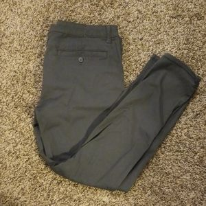 American Eagle Super Stretch Gray Skinny Pants